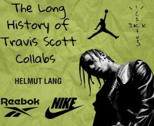 Travis Scott Air Jordan Collaborations
