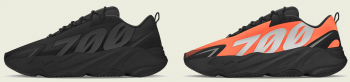 "Yeezy Releases 2019: Yeezy Boost 700 MNVN ""Triple Black"" and ""Orange"""