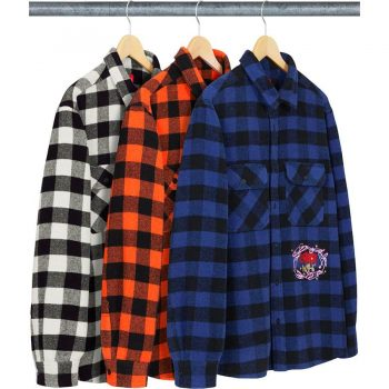1-800 Buffalo plaid shirt - Supreme Nike week 11