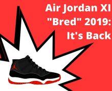Air Jordan 11 _Bred_ 2019