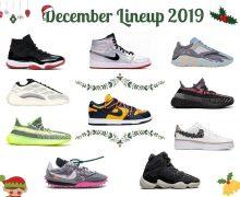 December 2019 sneaker releases