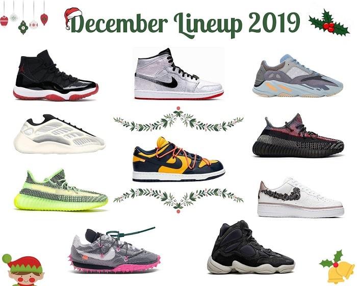 December 2019 Sneaker Releases: 'Tis