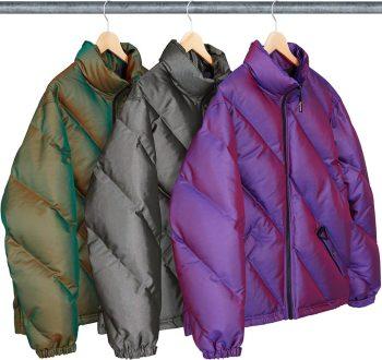 iridiscent puffy jacket Supreme nike week 11