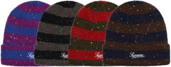 Stripe beanies - Supreme nike air max week 11