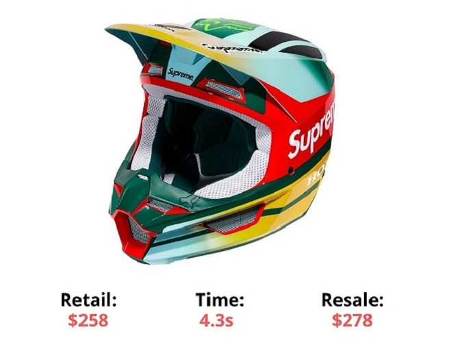 Supreme Honda Fox Racing V1 Helmet supreme items