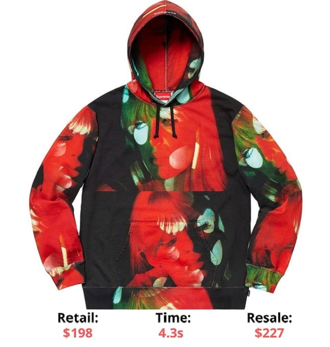 Supreme - The Velvet Underground Nico Hooded Sweatshirt Supreme Sellout times supreme items