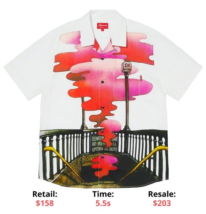Supreme The Velvet Underground Rayon SS Shirt supreme sellout times supreme items