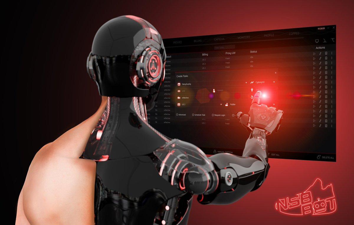 NSB sneaker bot Cyborg