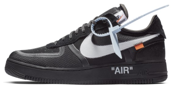 Nike x Off-white air force 1 low Black