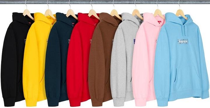 Supreme bogo bandana hoodies