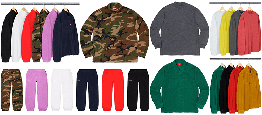 Supreme resale - supreme bot - droplist week 15 2