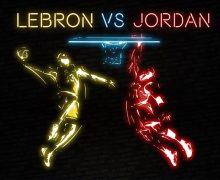 Jordan vs Lebron -