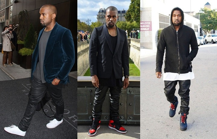 Kanye West fashion influence leather