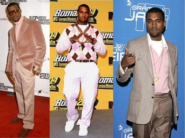 Kanye West fashion influence pink