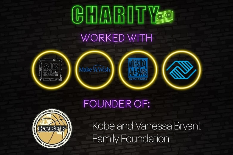 Kobe Bryant - Black Mamba Charitable Work