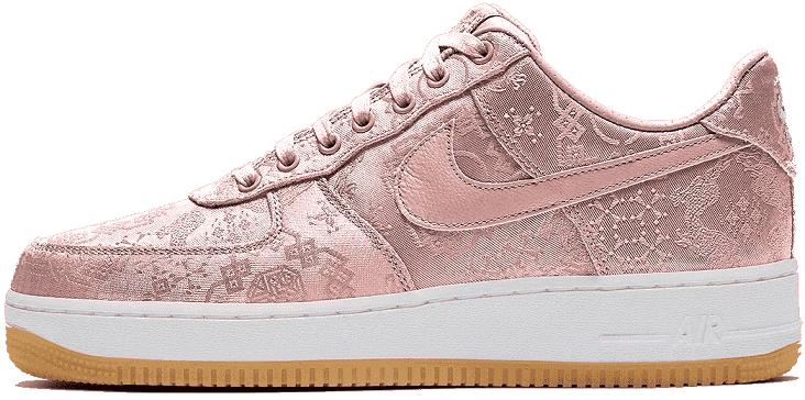 Nike Air Force 1 Nike Clot Rose Gold