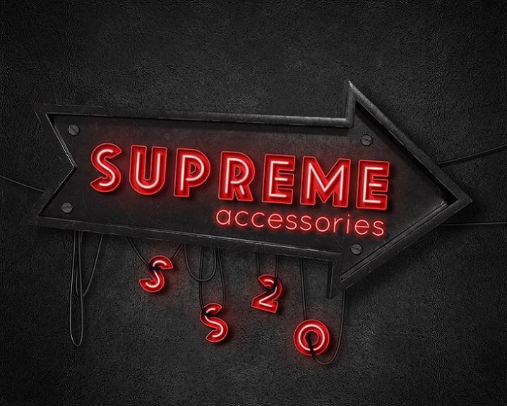 Supreme Accessories SS20 -