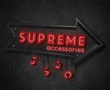 Supreme accessories SS20