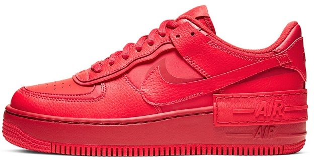 Women Sneakers 2020 - Air Force 1 Triple Red