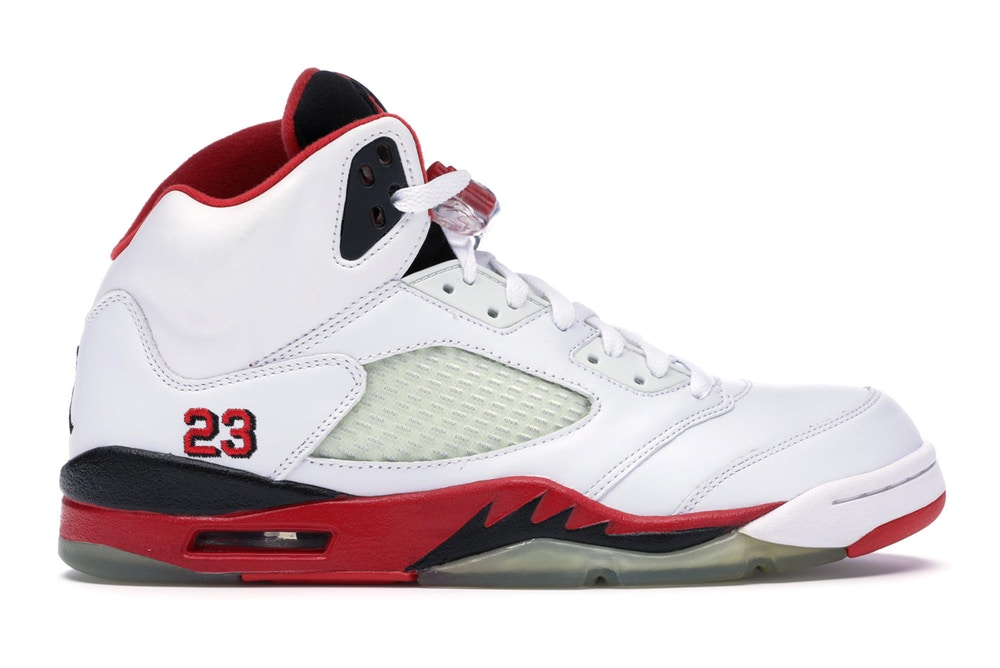 Air Jordan 5 Fire Red 2006