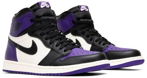 Court Purple Air Jordan 1 2018
