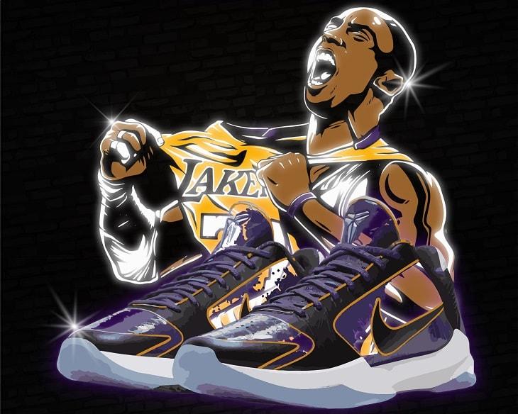 Nike Kobe 5 Protro Lakers Kobe