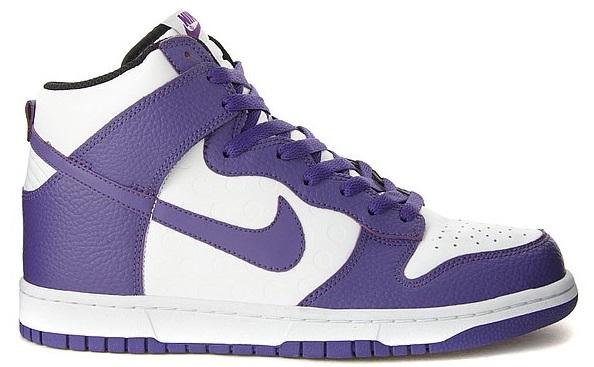 Purple Air Jordan 1 Lookalike BTTYS Nike Dunk High