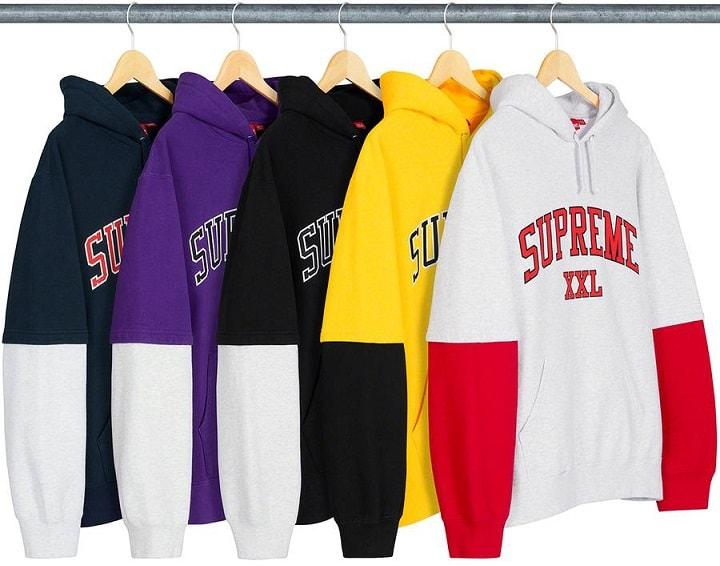 Supreme Drops - XXL hoodie