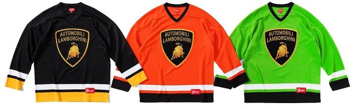 Supreme Lamborghini Hockey Jersey