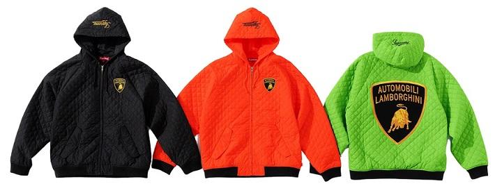 Supreme Lamborghini Hooded Work Jacket