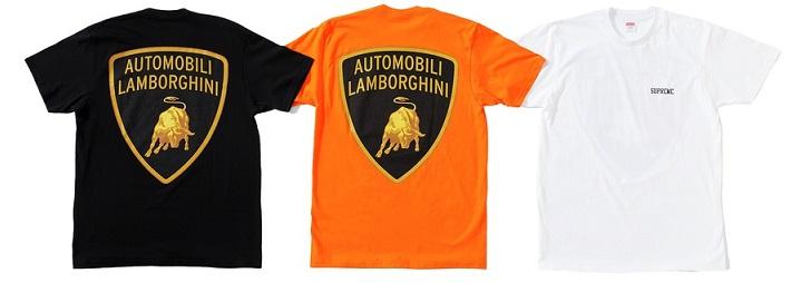 Supreme Lamborghini Tee
