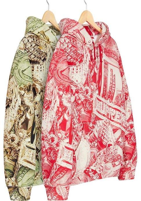 Supreme Timberland Bling hoodie