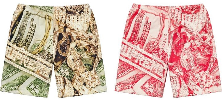 Supreme Timberland Bling shorts