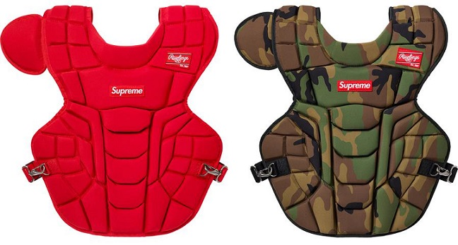 Supreme Week 4 Rammellzee Collab Rawlings Chest Protector