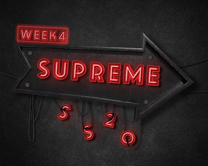 Supreme Week 4 Rammellzee Collab