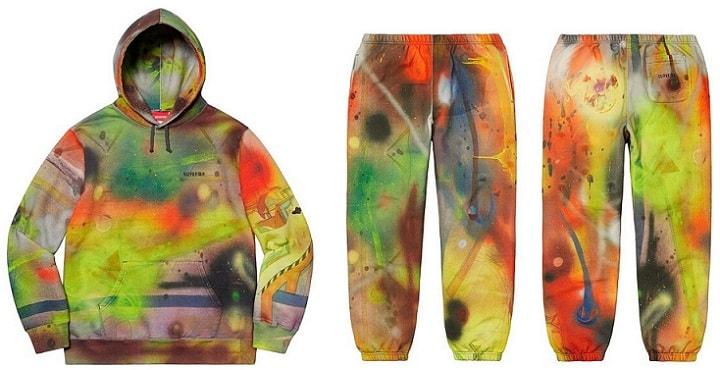 Supreme Week 4 Rammellzee Hooded Sweatshirt and Sweatpant