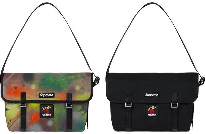 Supreme week 4 De Martini Remmellzee Messenger Bag