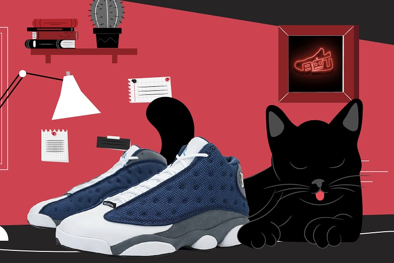 Air Jordan 13 Flint and Cat