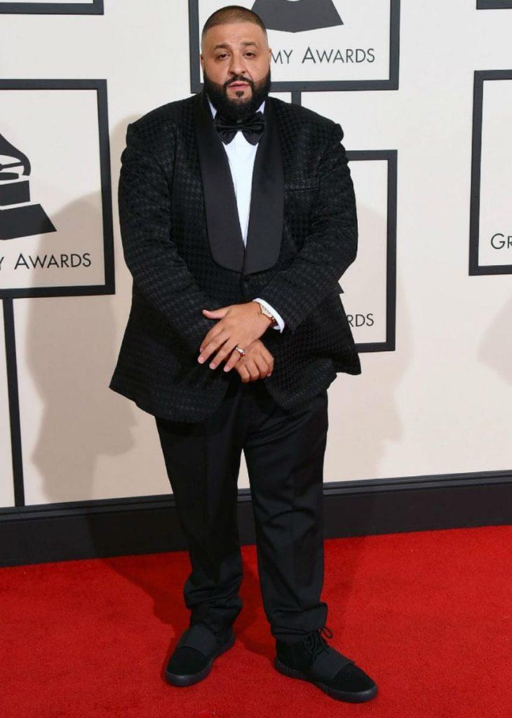 How to wear Yeezys - DJ khaled yeezy 750 with suit