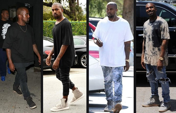 How to wear Yeezys - yeezy 750 outfits