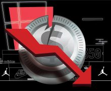 Sneaker Brands Financial losses Graphic