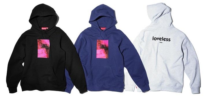 Supreme My Bloody Valentine hoodie