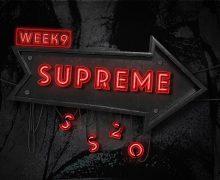 Supreme My bloody valentine week 9