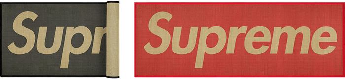 Supreme prices mat