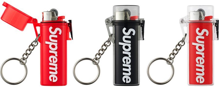 Waterproof Lighter Case Keychain - Supreme Hoodie