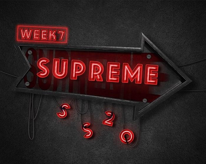 Week 7 Supreme Hoodie