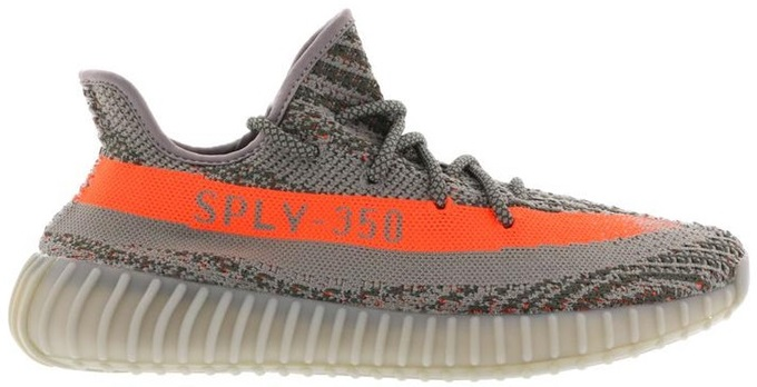 Workout sneakers for indoor workouts - Yeezy Beluga
