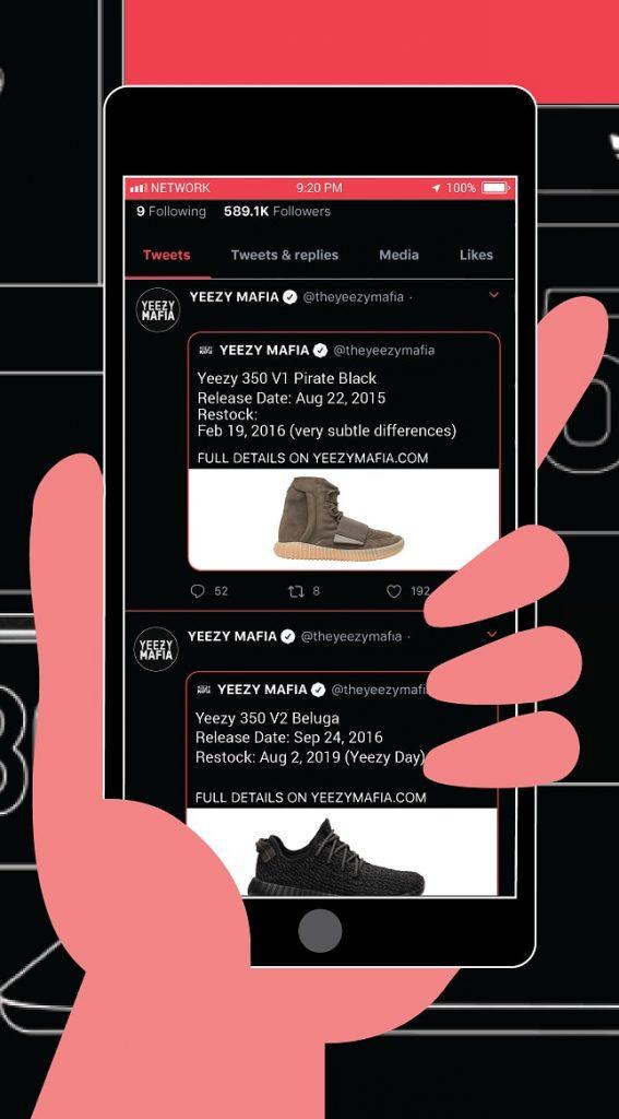 Yeezy restocks 750 - 350 V1