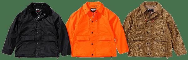 Barboor supreme field jacket- supreme bike