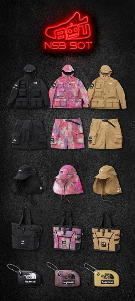 Supreme TNF Droplist